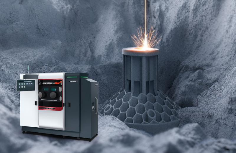 The LASERTEC 30 SLM impresses with its high level of process reliability and efficiency on the market for additive systems for selective laser melting.