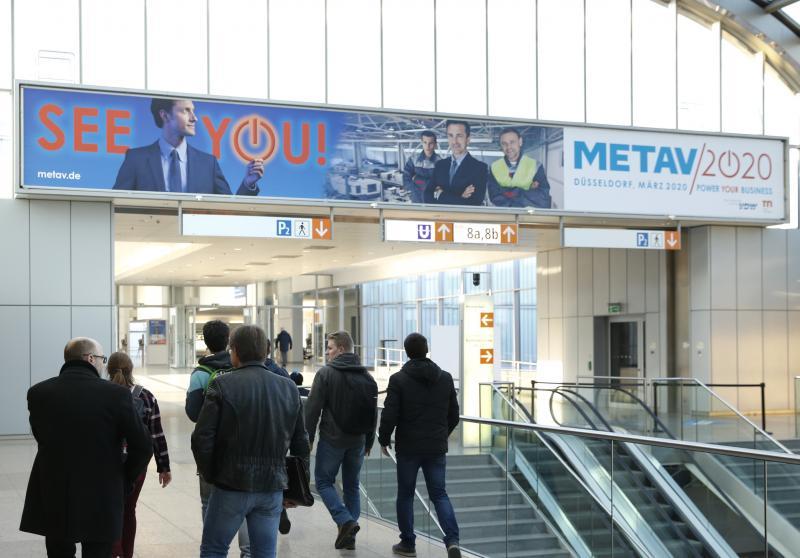 Die nächste METAV findet im März 2020 in Düsseldorf statt.