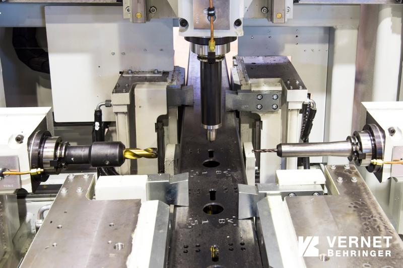 Vernet Behringer presents compact drilling-milling machine for profiles