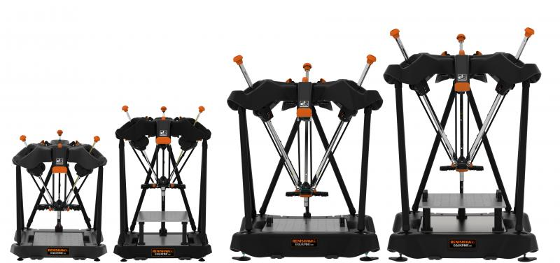 New Equator 500 - Standard and extended height with Equator 300 standard and extended height