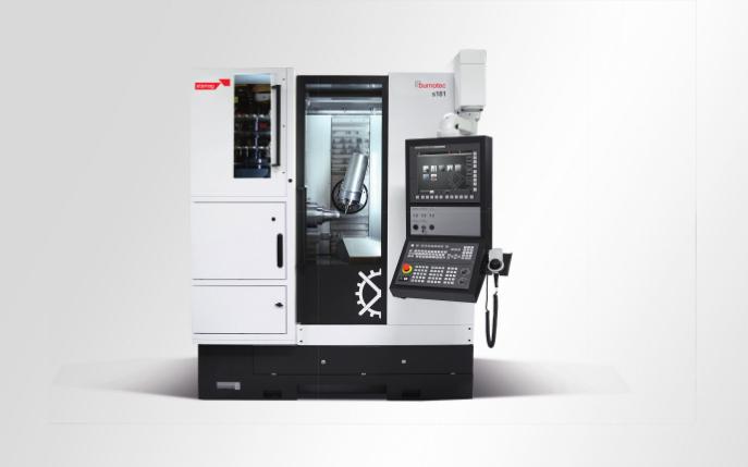 Hightech in Shanghai: Starrag präsentiert auf der CCMT das 5-Achs-Dreh-Fräszentrum Bumotec s181, das sich bereits bei der Komplettbearbeitung von komplexen und hochpräzisen Bauteilen aus der Medizintechnik, Uhrenindustrie und Feinmechanik bewährt hat.