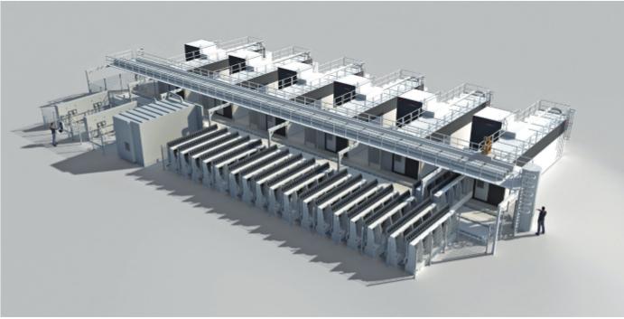Bis zum Sommer 2019 baut Starrag in der Flugzeugfabrik von Chengdu Aerospace eine der weltweit produktivsten und leistungsfähigsten Anlagen zur Komplettbearbeitung von Strukturbauteilen aus Aluminium auf.
