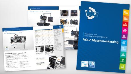 Der neue VOLZ Werkzeugmaschinen - Katalog ist da!