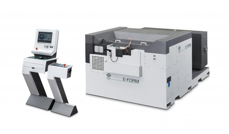 E-FORM by BLM GROUP is a system that can be configured up to 9 passes to carry out deformation, end-machining and rolling operations.