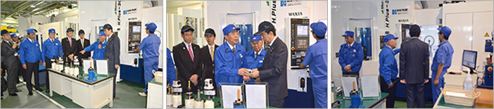 Japanese Prime Minister visits parent company of BIG KAISER