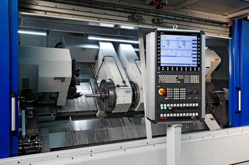 Werkzeugmaschinenbau Sinsheim – WMS retrofit: Higher productivity at very low costs