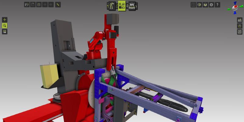 Crown führt simulationsbasierte Offline-Programmierung auf Basis von Fastsuite Edition 2 ein