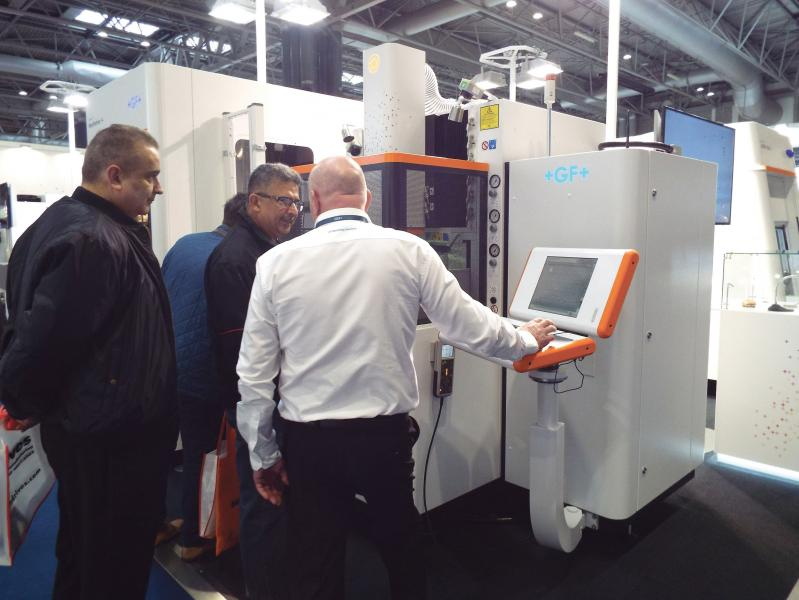 Visitors impressed by GF Machining Solutions' show of strength at MACH 2018