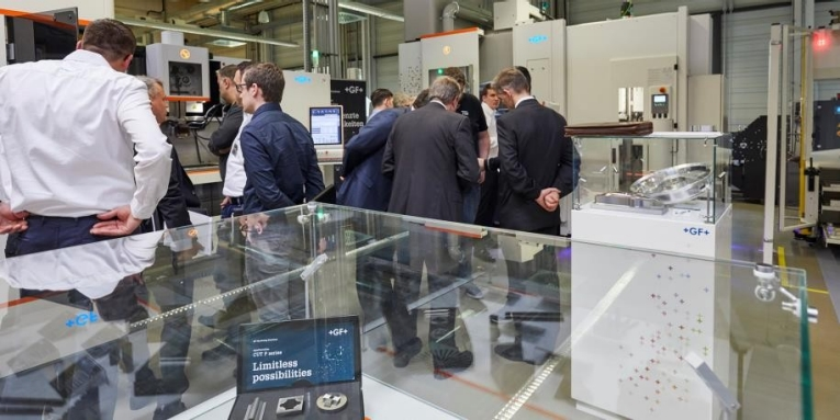 Guests at GF Solutions Days Europe 2018 experienced a series of guided tours addressing key business challenges.