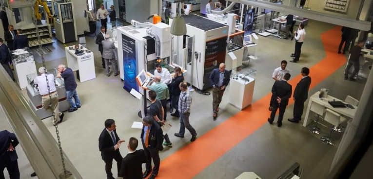 More than 600 guests from across Europe took part in GF Solutions Days 2018, April 17–19 at GF Machining Solutions' Center of Competence in Schorndorf, Germany.