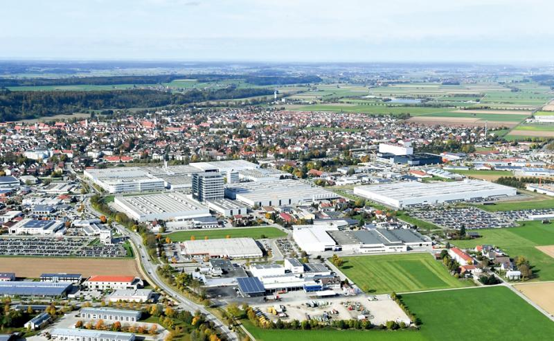 GROB Mindelheim plant in the year 2017