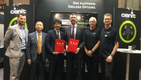 Partnerschaft für China 2025: RISONG und CENIT