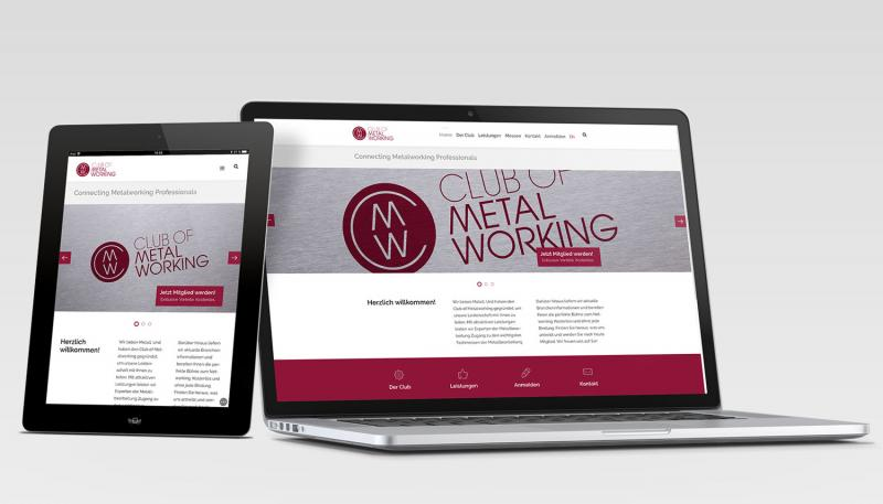 Following free-of-charge registration at www.clubofmetalworking.de, members receive an individual welcome package with their personal club card.