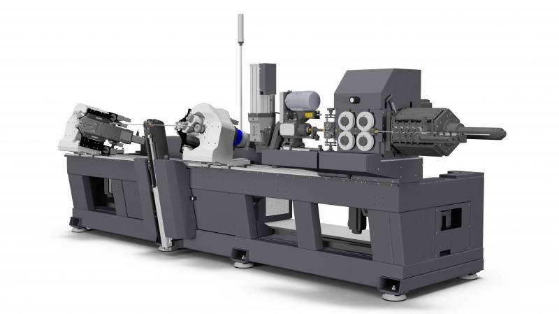 BLM GROUP is consolidating its presence in the metal wire bending world with a new twin head bending system. The DH4010VGP is a further development of BLM GROUP in this product type and implements important new features to increase productivity and flexibility with respect to older systems.