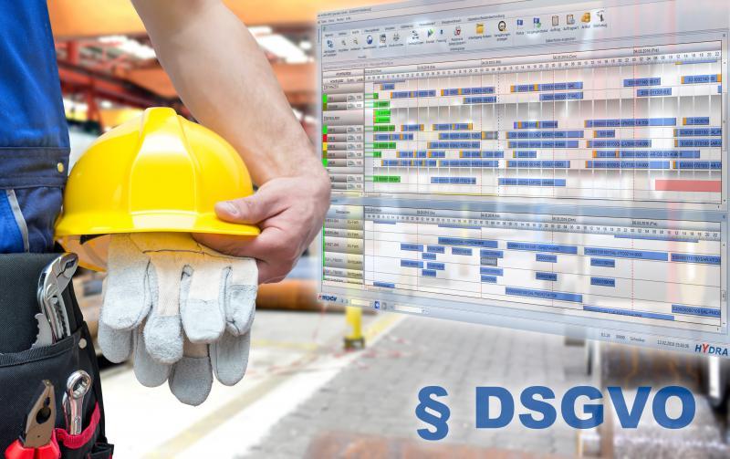 MES HYDRA von MPDV unterstützt DSGVO-konformen Umgang mit personenbezogenen Daten in der Produktion