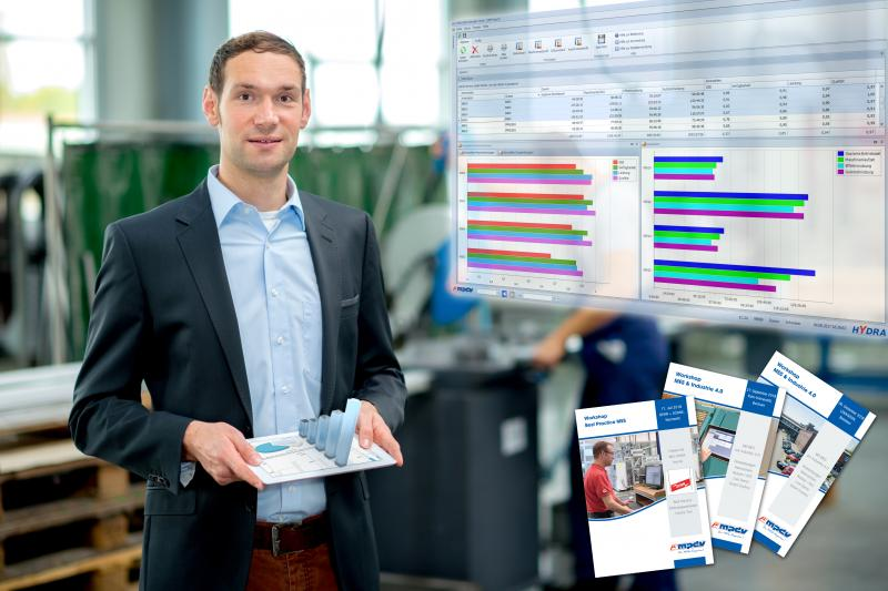 In praxisnahen Workshops vermittelt MPDV Wissen über MES und Industrie 4.0