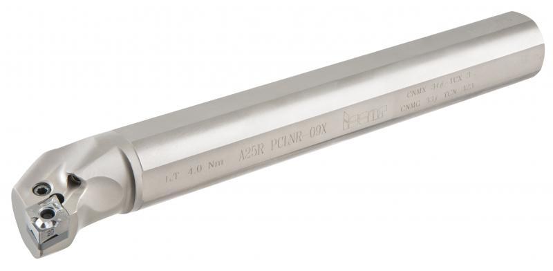 Werkzeuge der ALU P TURN-Reihe besitzen doppelseitige positive Schneideinsätze.