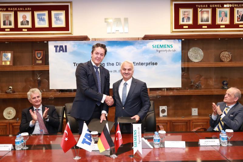 Turkish Aerospace Industries wählt Siemens als Technologiepartner für die digitale Transformation