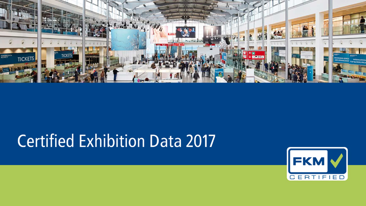 Key data for 178 German exhibitions in the FKM Report 2017