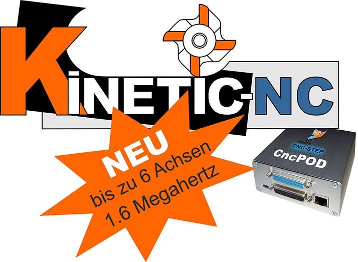 Neue CNC-Steuerungssoftware von CNC-STEP