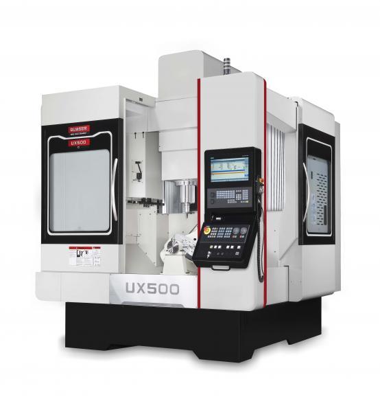Während der diesjährigen AMB präsentiert die Hommel Unverzagt das neue 5-Achsen-Bearbeitungszentrum Quaser UX 500 erstmals in Europa.