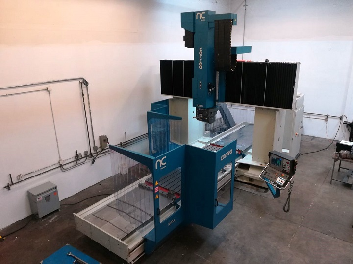 Nicolás Correa Service retrofits a CORREA FP40/40, 5-axis bridge type milling machine