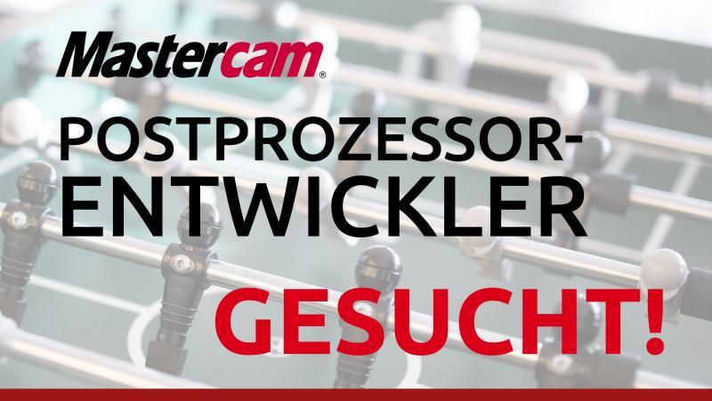 Zum nächstmöglichen Zeitpunkt suchen wir einen technischen Spezialisten für die Entwicklung von Postprozessoren zur Unterstützung unseres Mastercam-Technikteams: