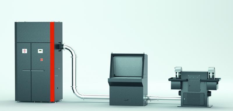 Der Kompaktnassabscheider HydronPlus ist für Fertigungsprozesse prädestiniert, die brennbare, explosionsfähige oder klebrige Stäube erzeugen. Die Produktneuheit wurde bereits mit dem Umwelttechnikpreis Baden-Württemberg ausgezeichnet.