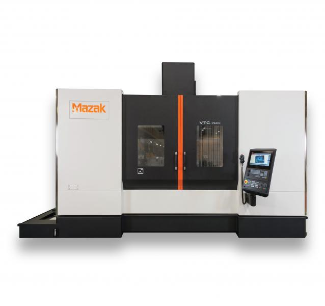 Die Mazak VTC-760C jetzt neu mit Siemens SINUMERIK 828D Steuerung.