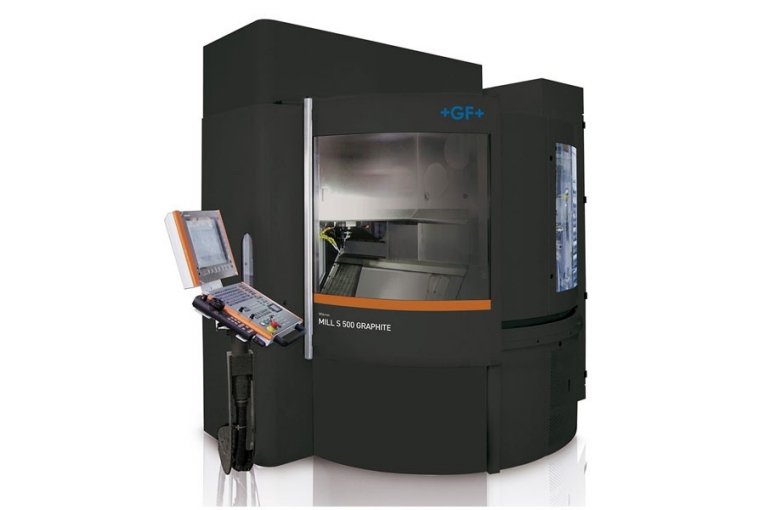 The Mikron MILL S GRAPHITE with Step-Tec's new 42,000 rpm HVC140 Spindle takes graphite mold manufacturers beyond fast dry and wet graphite machining to achieve long-term precision and the ability to tackle a wide range of materials.