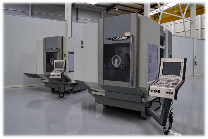 Nicolás Correa Service, S.A. retrofits and sells two DECKEL MAHO 5 axis machining centres