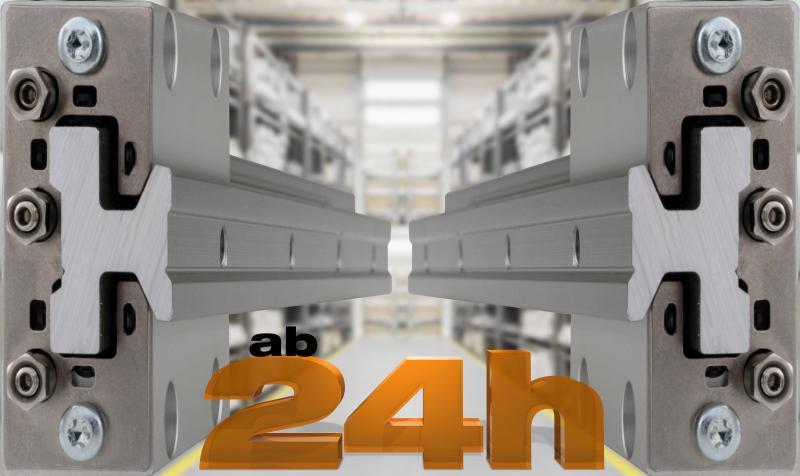 High-Performance in der Lineartechnik mit igus Hochleistungskunststoffen und vollem Lager.