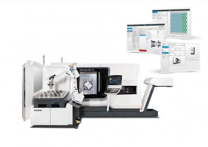 AMB 2018: DMG MORI zeigt auf rund 2200 m² 13 Hightech-Maschinen ausgestattet mit ganzheitlichen Automationslösungen. Als Neuheit präsentiert DMG MORI den Robo2Go in der zweiten Generation.