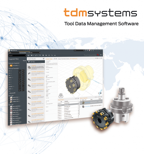Werkzeugdatenmanagement-Lösungen für die digitale Transformation