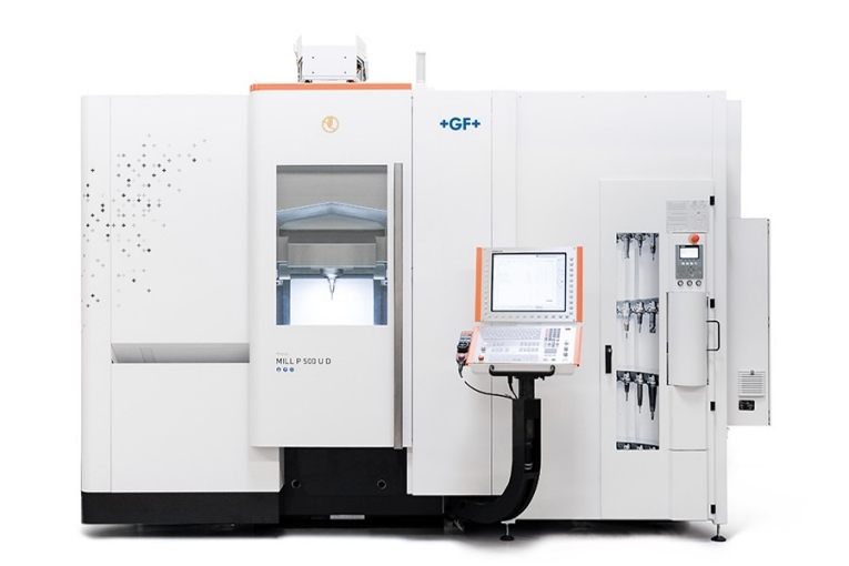 GF Machining Solutions' new Mikron MILL P 500 U and Mikron MILL P 800 U five-axis simultaneous Milling machines provide mold and die producers with agility for the future. Optimized for intelligent productivity and precision, they transform manufacturers' current challenges into applications for tomorrow.