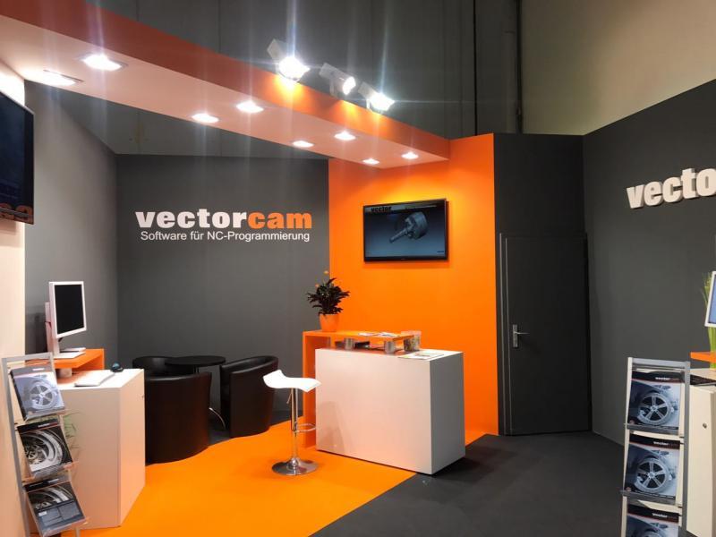 vectorcam präsentiert die Version 17 auf der AMB in Stuttgart