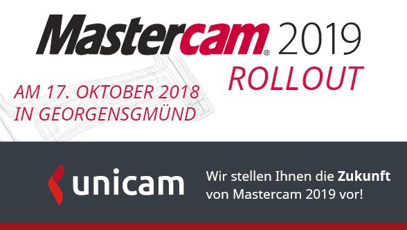 Im Herbst ist es soweit. Die neue Version Mastercam 2019 wird released und unseren Wartungskunden in Georgensgmünd neben vielen interessanten Vorträgen zum Thema Fräsen vorgestellt.   Sie interessieren sich auch für das Mastercam 2019 Rollout und sind kein Wartungskunde bei uns? Dann freuen wir uns über Ihren Anruf unter 09172 66 7 99 0.