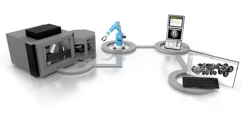 Connected Machining von HEIDENHAIN: Hardware- und Software-Lösungen für die durchgehend digitale Vernetzung von automatisierten Fertigungsprozessen