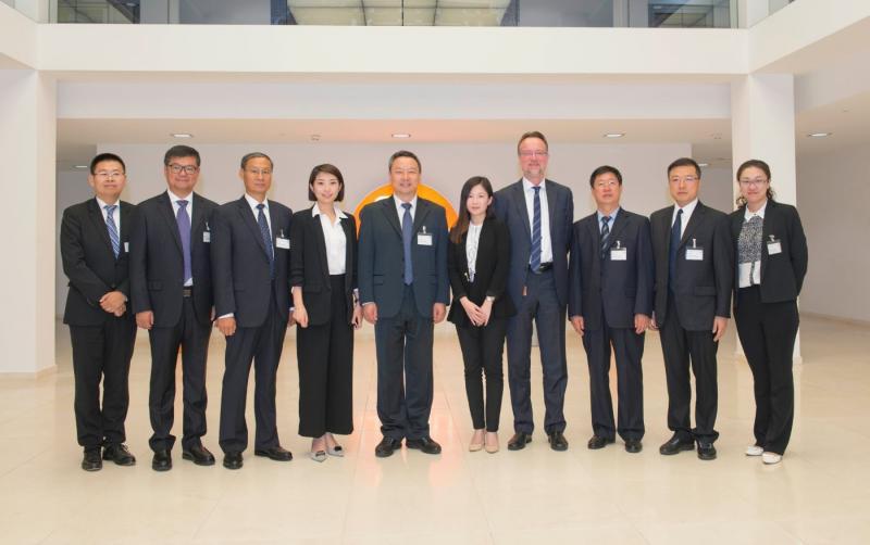 Chinesischer Bildungsminister besucht ifm in Essen