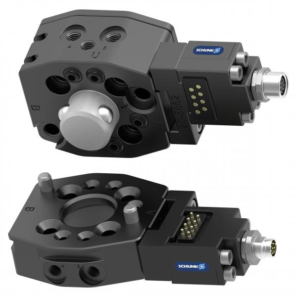 For the compact SCHUNK SWS-007 quick-change system, numerous functional features are already integrated. 