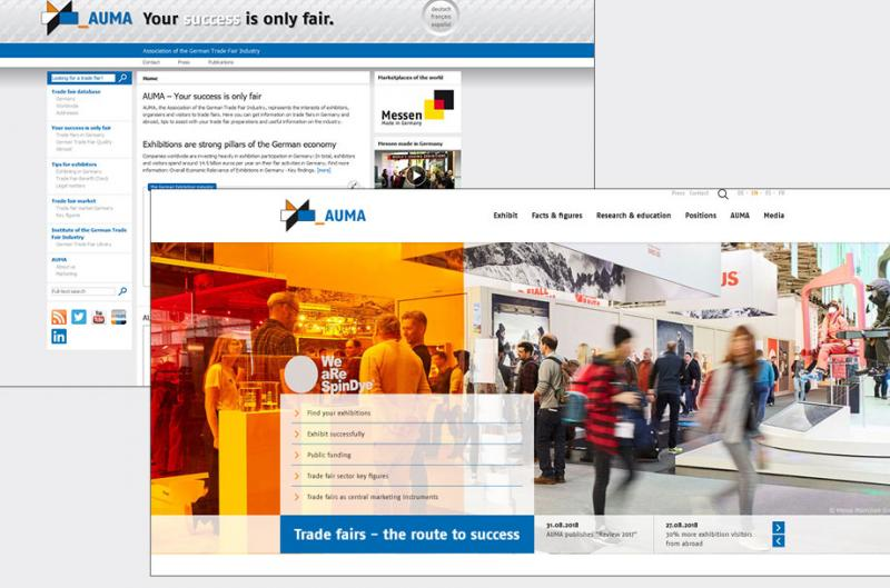 AUMA has relaunched website basically