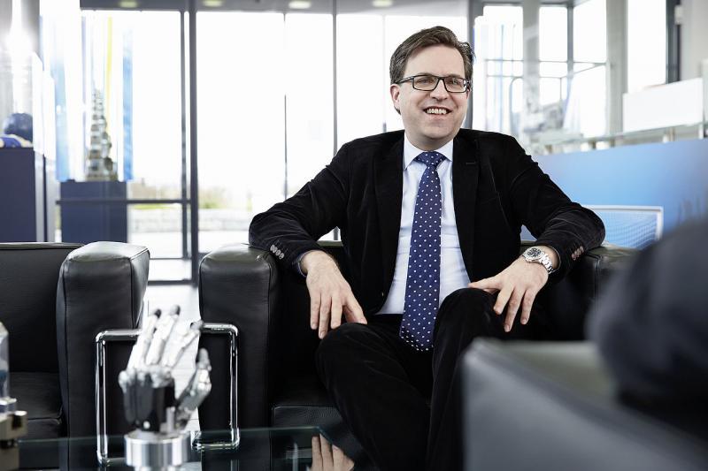 Henrik A. Schunk, director general de SCHUNK GmbH & Co. KG, Lauffen, Alemania.