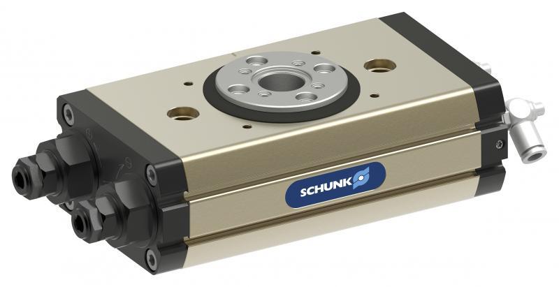 El SRM de SCHUNK, es el módulo giratorio más robusto con la mayor densidad de potencia del mercado. Se están definiendo nuevos puntos de referencia incluso para el tamaño del agujero central.
