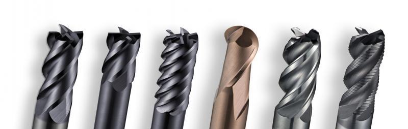 la gama de fresas de corte S2 incluye una amplia variedad de opciones de diseño para numerosas aplicaciones con materiales difíciles de mecanizar.
