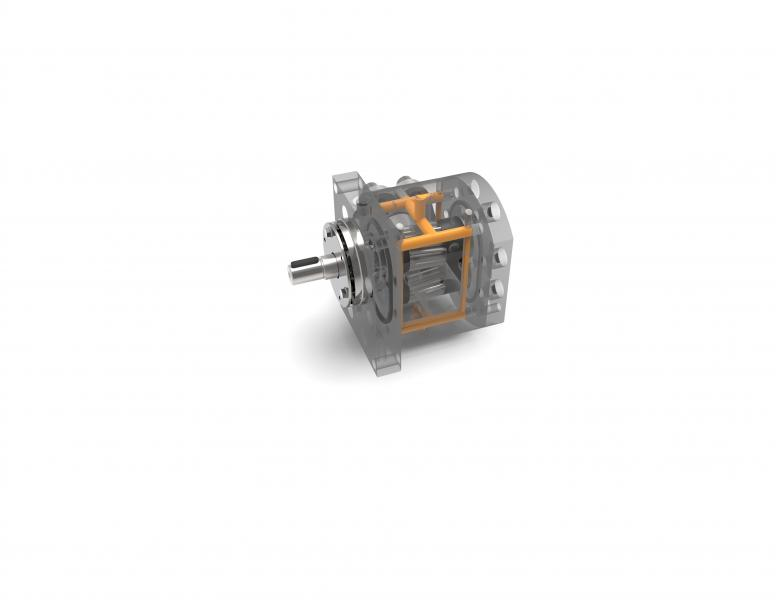 Die Chemiepumpen der CHEM Baureihe werden zur Additivdosierung im Extrusionsprozess eingesetzt
