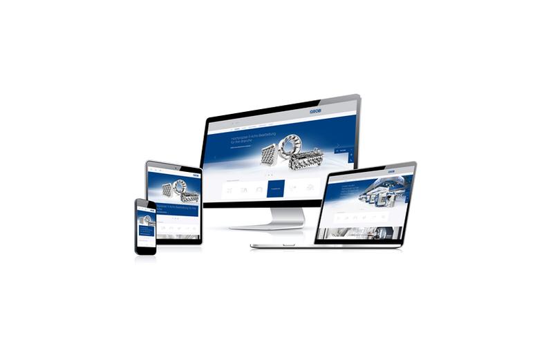 Unternehmenswebsite im neuen Look