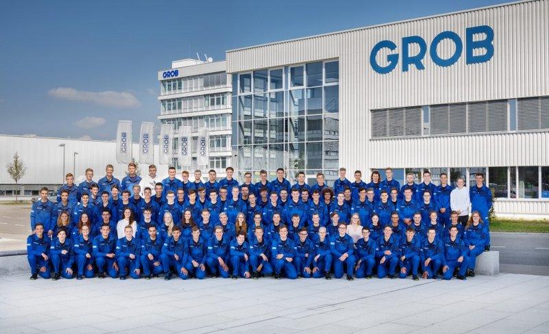 GROB in Mindelheim begrüßt seine 100 neuen Auszubildenden.