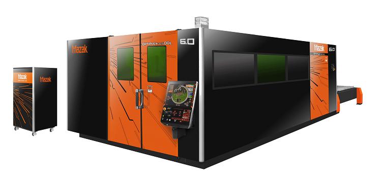 Die Mazak OPTIPLEX 3015 DDL jetzt mit 6kW Leistung liefert dem Laser-Anwender einen echten Durchbruch in puncto Schnittleistung