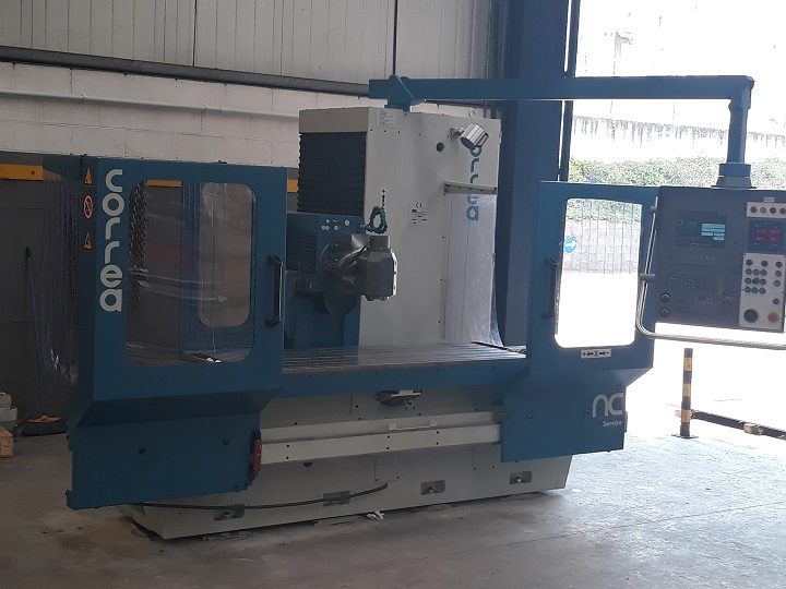 Sale of a CORREA CF20/20 milling machine for resistant steels