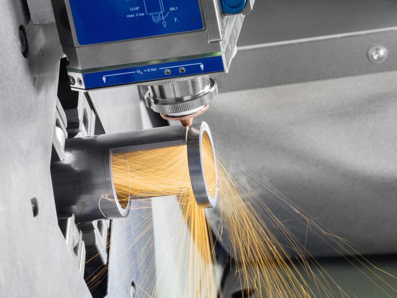 The LT5 is the simple, essential, compact Lasertube system with a remarkably advantageous performance-to-price ratio. This means it can directly compete with disc cutting systems in terms of performance and price – and more than often prevail.